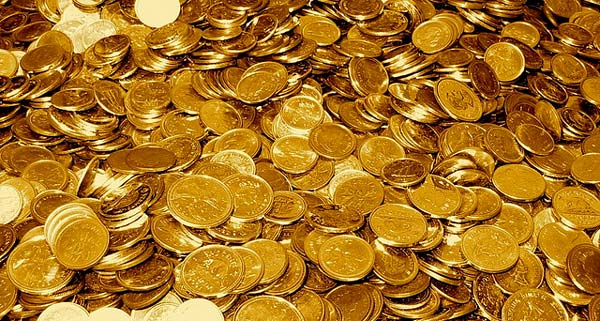 Photo of Golden Coins