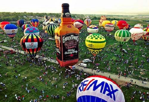 Photo of Kentucky Derby Festival Balloon Event