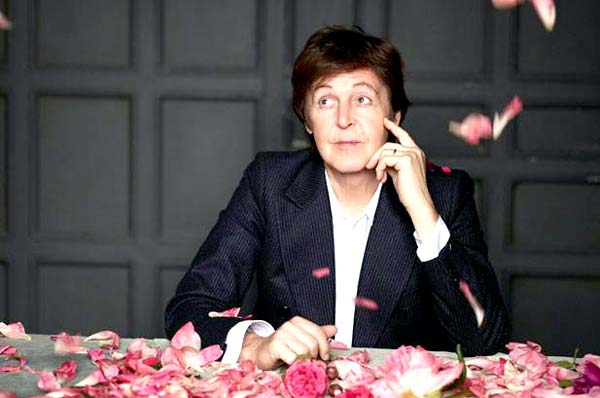Photo of Paul McCartney thinking about his trip to Louisville
