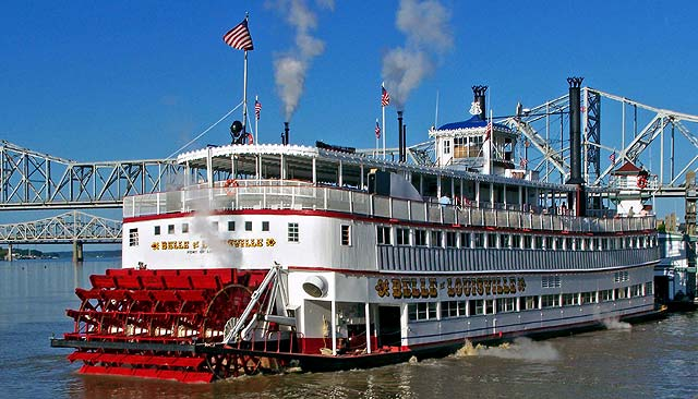 Photo of Belle of Louisville oldest operating steamboat Louisville Kentucky