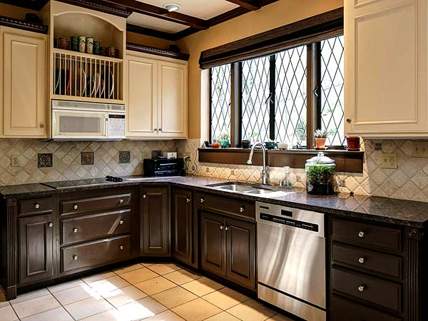 Photo of kitchen remodeling ideas #1 with complimentary cabinet colors