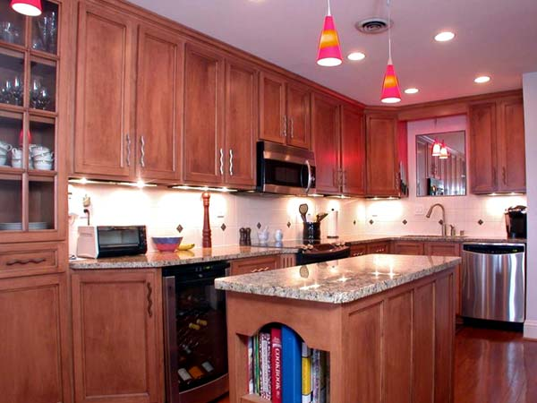 Photo of kitchen remodeling ideas #4 with Bold Lighting Choices