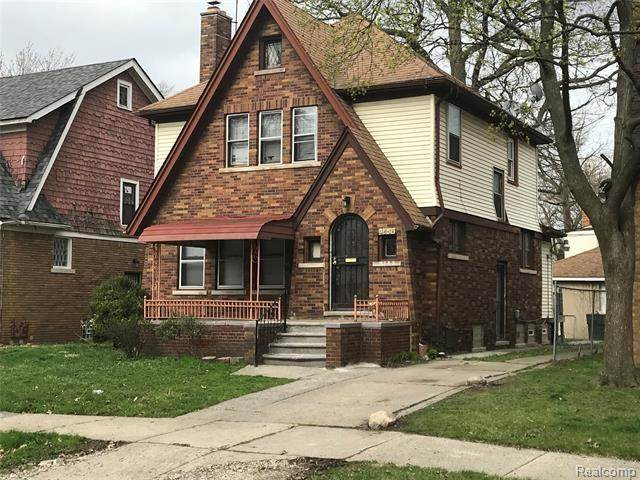 Photo of a home for sale in Detroit Michigan