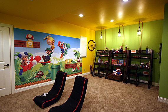 Photo of a true kids room