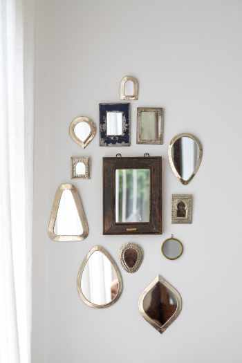 Photo of a mirror wall