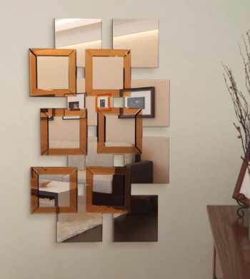 Photo of some wall mirrors