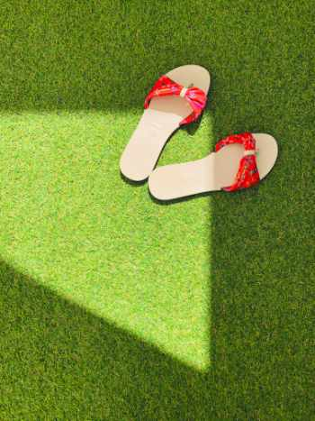 Photo of some artificial turf