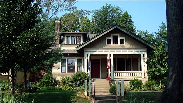 Craftsman style home in Crescent Hill Louisville