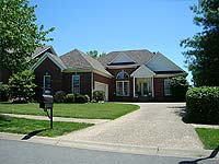 Photo of homes in Indian Springs Louisville Kentucky