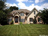Photo of homes in Persimmon Ridge Louisville Kentucky