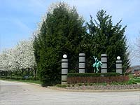 Photo of Entry into Polo Fields Louisville Kentucky