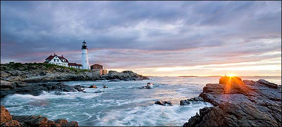 Photo of Head Lighthouse outside Portland Maine